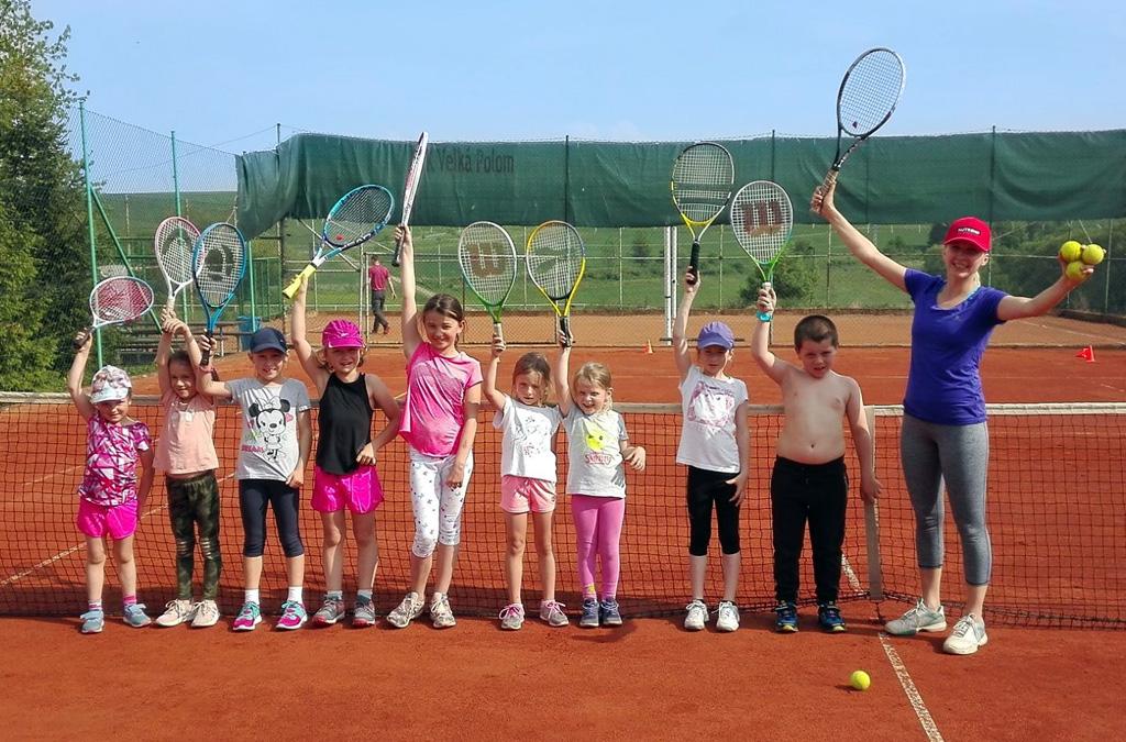 Letní  příměstský tenisový kemp